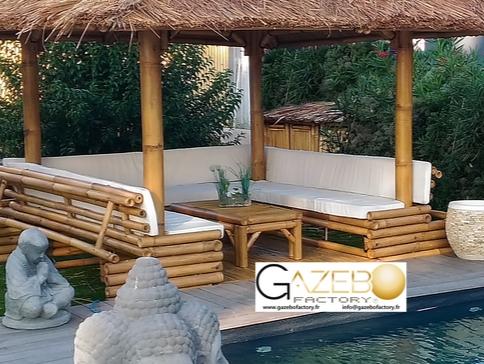 gallery of amnagement du gazebo with pergola petit prix. Black Bedroom Furniture Sets. Home Design Ideas